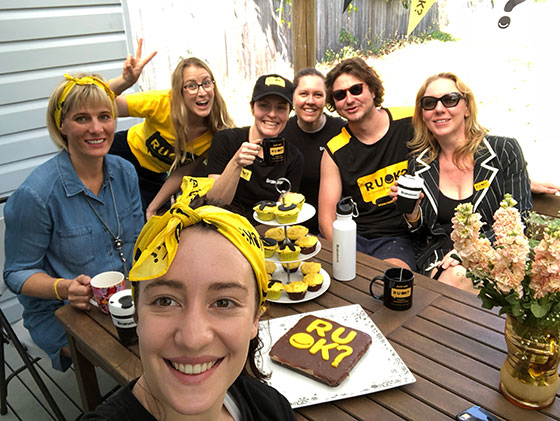 RUOK Day office staff FB