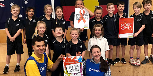 Cyber safety education Largs Bay PS